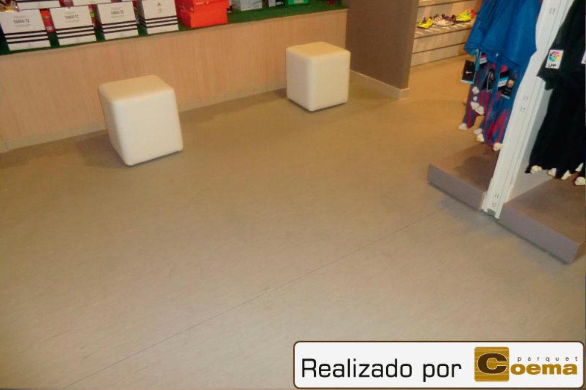 Pavimentos PVC en Tiendas